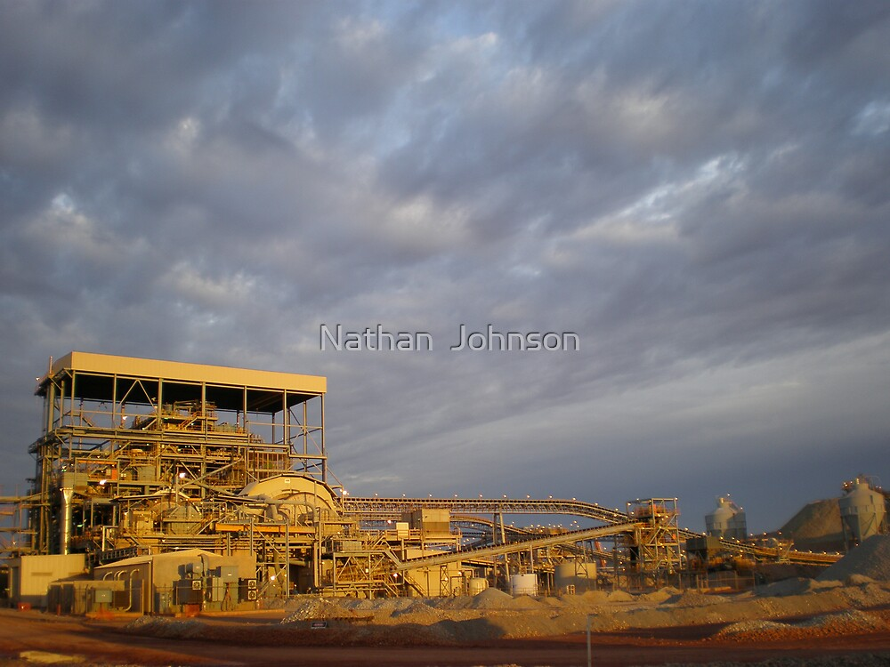 Early Morning Cyclonic Weather by Nathan  Johnson
