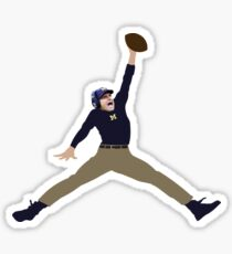 Harbaugh Jumpman Sticker