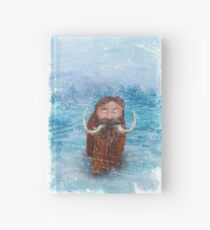 Bearded Mammoth Distressed Hardcover Journal