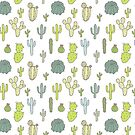 Cactus Pattern - A by 4ogo Design