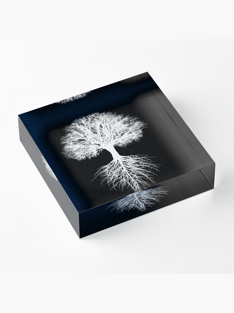 Alternate view of Tree of Life Acrylic Block