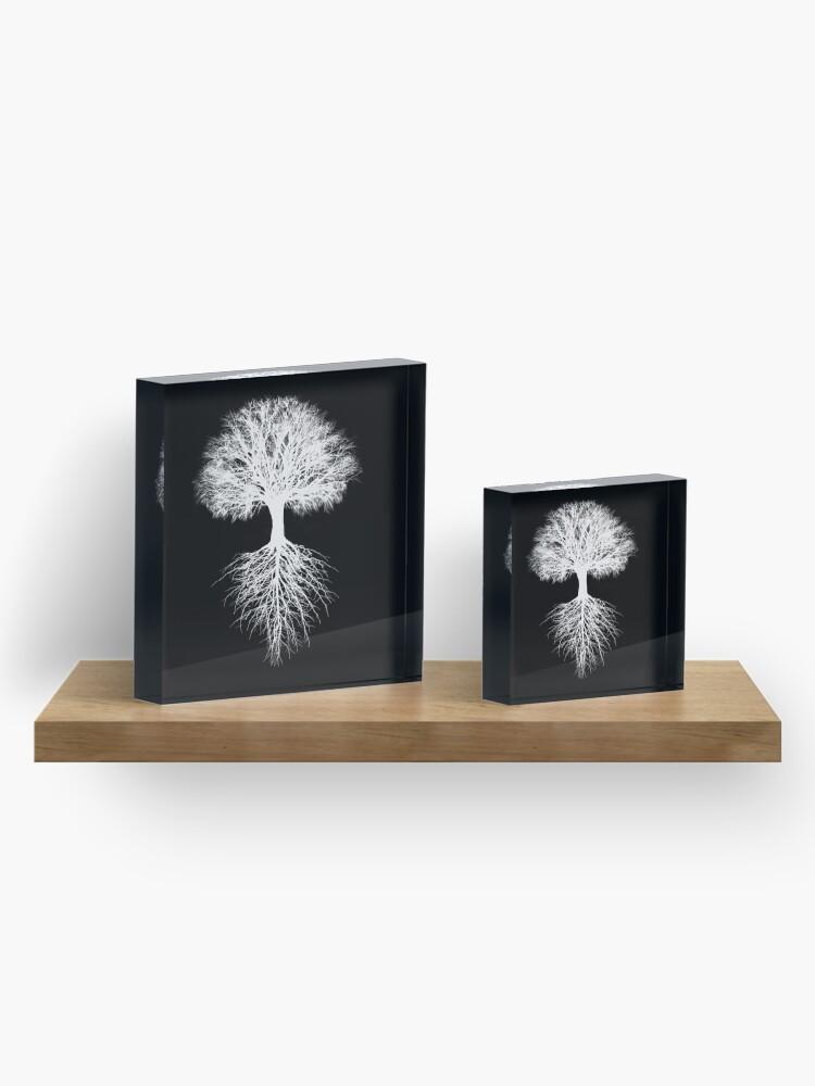 Alternate view of Tree of Life Acrylic Block