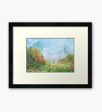 Devil's Thirst  Framed Print