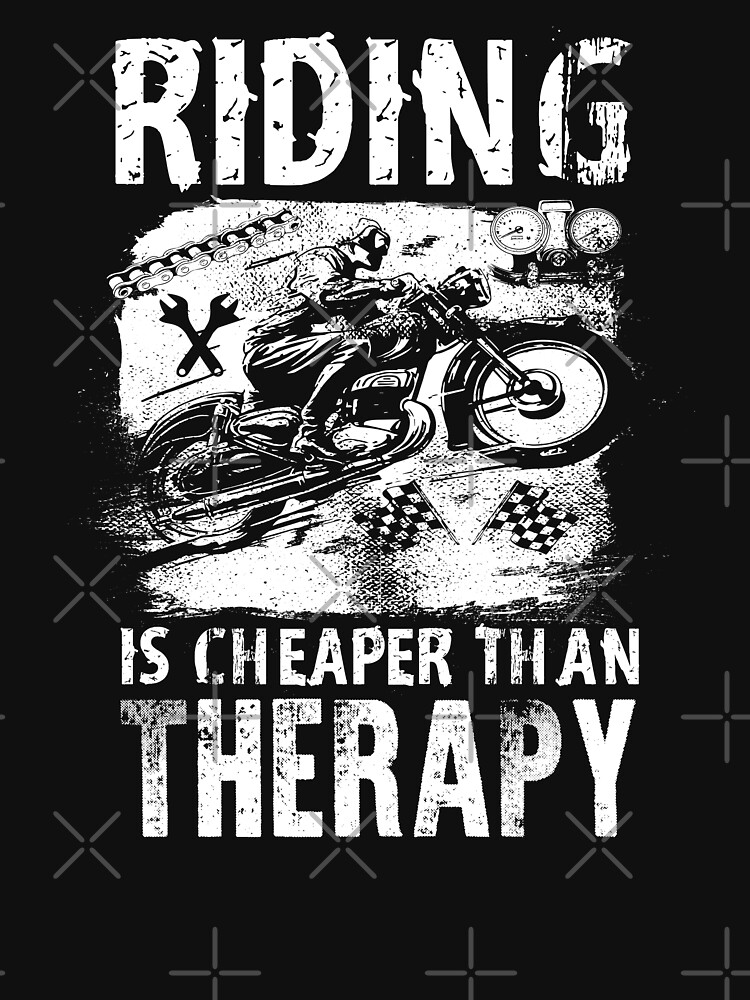 Riding is Cheaper than Therapy! by MikeMcGreg