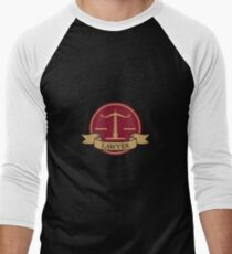 Layer Symbol Sign - Attorney Gift Men's Baseball ¾ T-Shirt