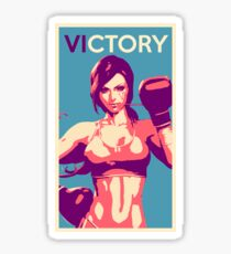 Boxing Vi from League of Legends Sticker