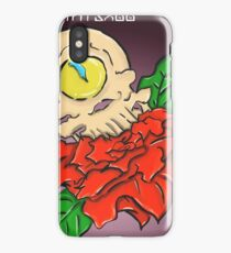 Cyclops Skull and a Rose iPhone Case/Skin