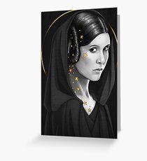 -Space princess- Greeting Card