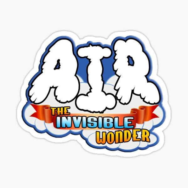 Air: The Invisible Wonder Sticker