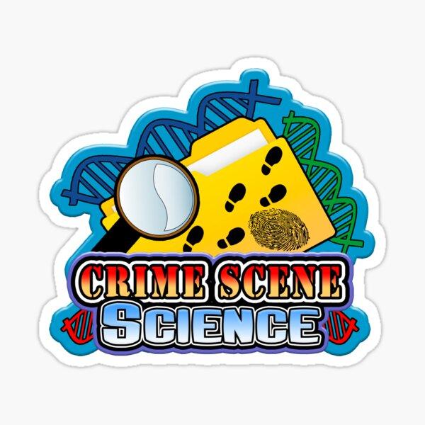 Crime Scene Science Sticker