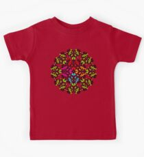 Flowery Heart Kids Clothes
