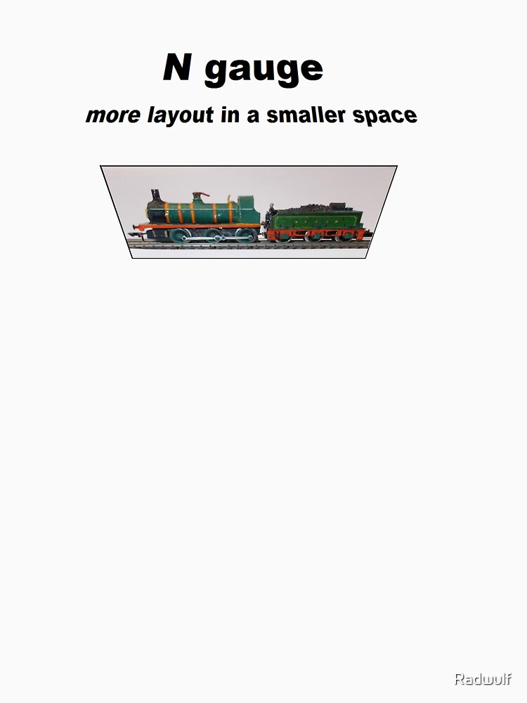 N Gauge    2 mm to the Foot approx by Radwulf