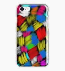 Knitted strokes iPhone Case/Skin