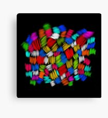 Knitted strokes Canvas Print
