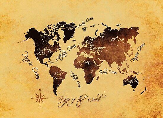 world map 75 by JBJart