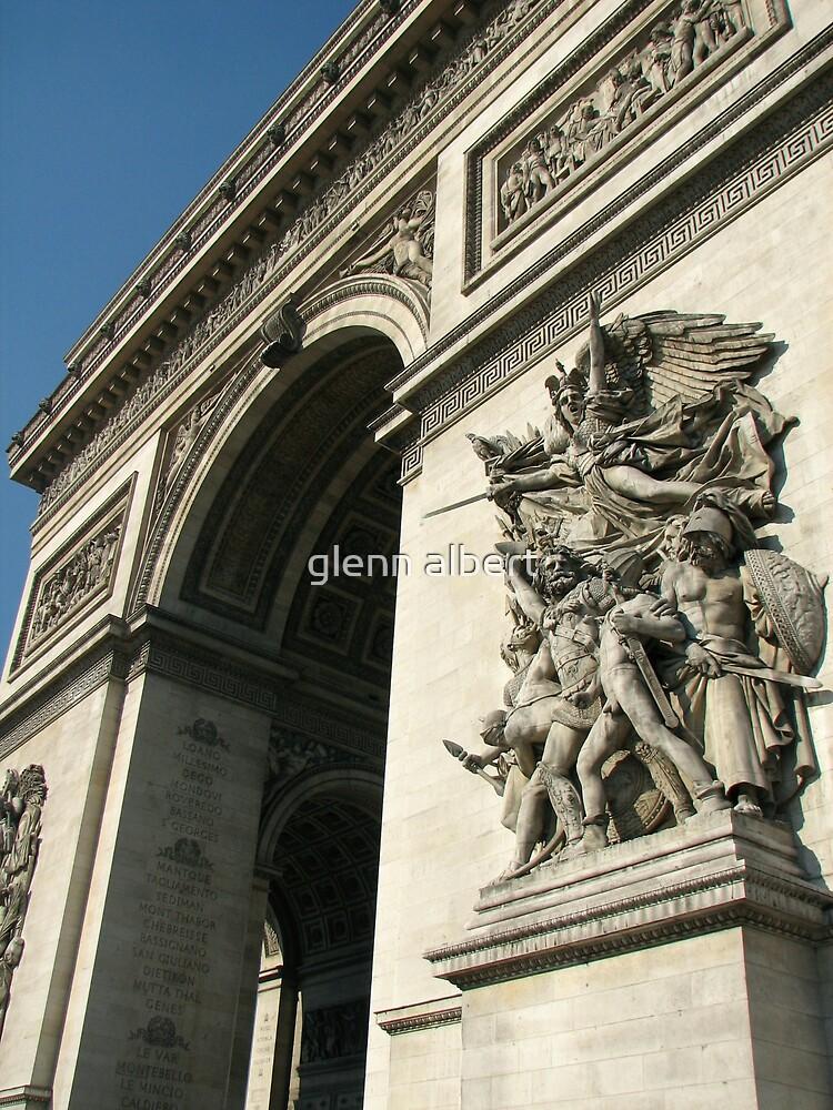 Arc de Triomphe by glenn albert