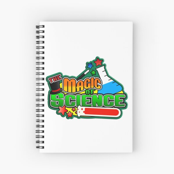 The Magic of Science Spiral Notebook