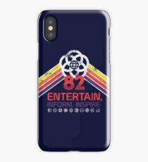 EPCOT Shirt - Distressed Logo - Entertain Inform Inspire iPhone Case