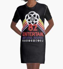 EPCOT Shirt - Distressed Logo - Entertain informieren Inspire T-Shirt Kleid