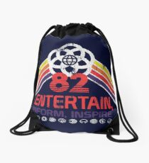 EPCOT Shirt - Distressed Logo - Entertain Inform Inspire Drawstring Bag