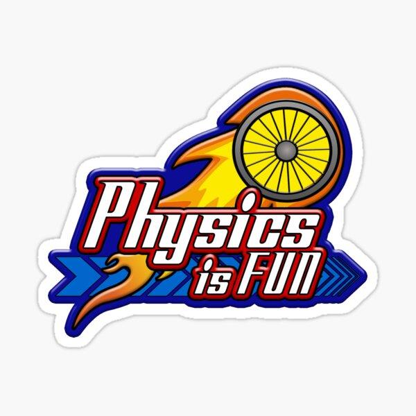 Physics is Fun Sticker