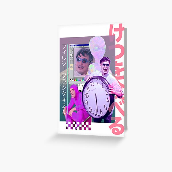 Filthy Frank 420 Greeting Card
