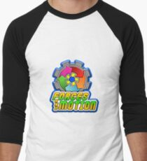 Forces and Motion Men's Baseball ¾ T-Shirt
