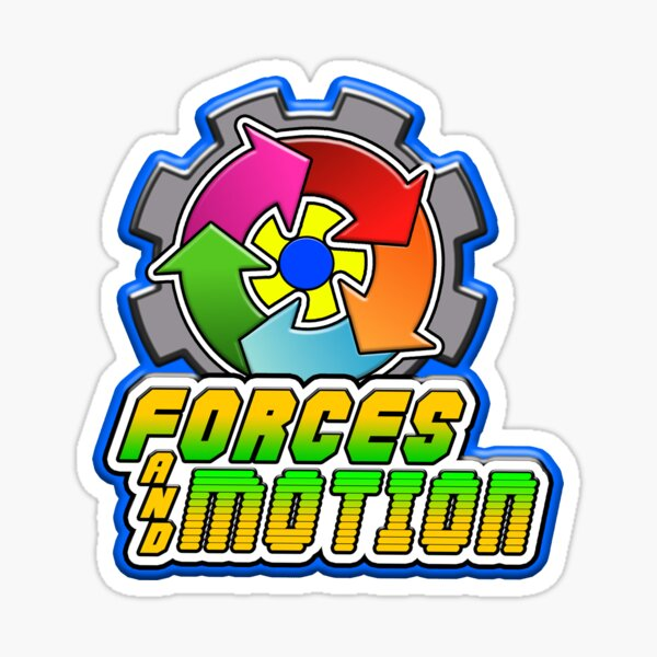 Forces and Motion Sticker