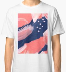 Pink Abstraction Classic T-Shirt