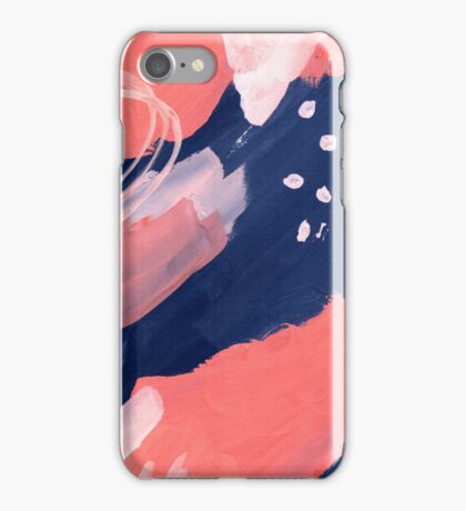 Pink Abstraction iPhone Case/Skin