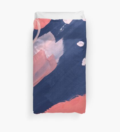 Pink Abstraction Duvet Cover