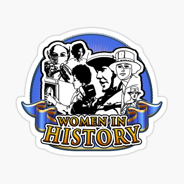 Women in History Sticker