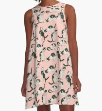 Crazy About Cats A-Line Dress
