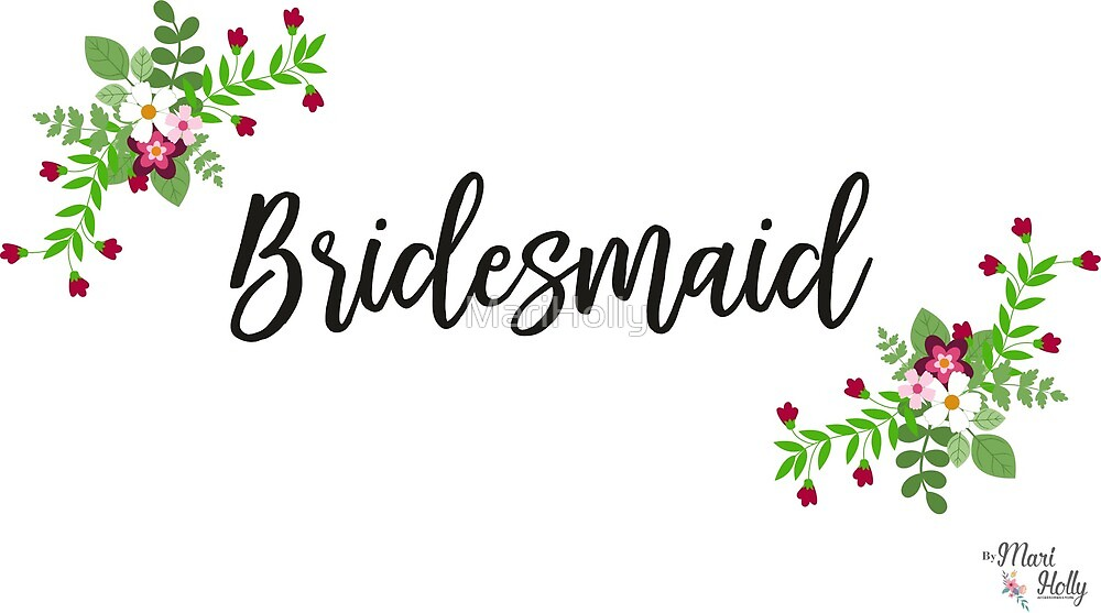 Bridesmaid Design by MariHolly
