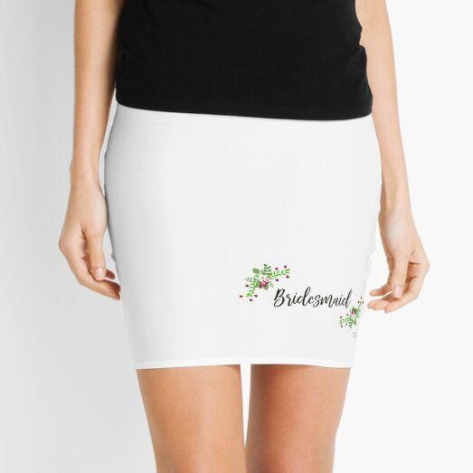 Bridesmaid Design Minifalda
