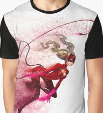 Sandstorm Persona 5 Ann Takamaki Panther Graphic T-Shirt