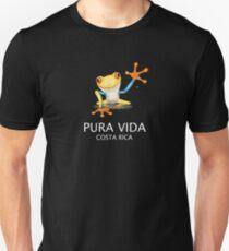Costa Rica Tree Frog Pura Vida Unisex T-Shirt