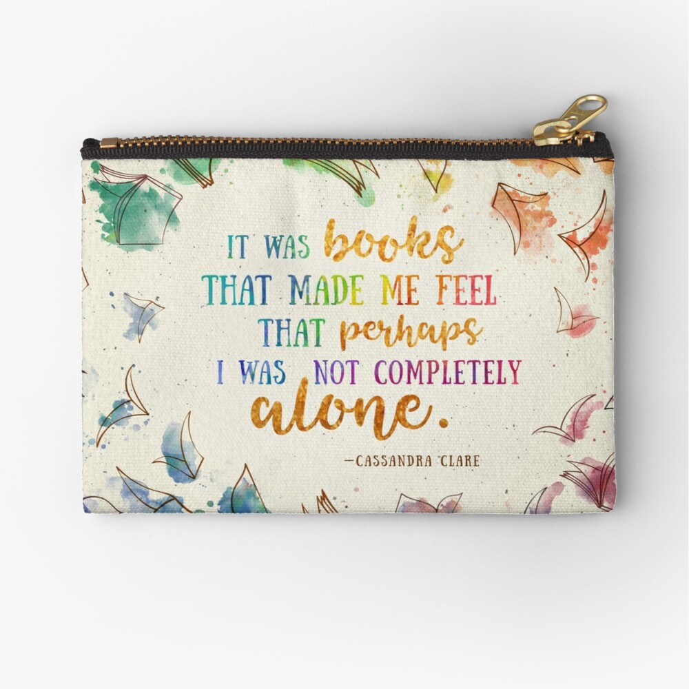 It was books Zipper Pouch