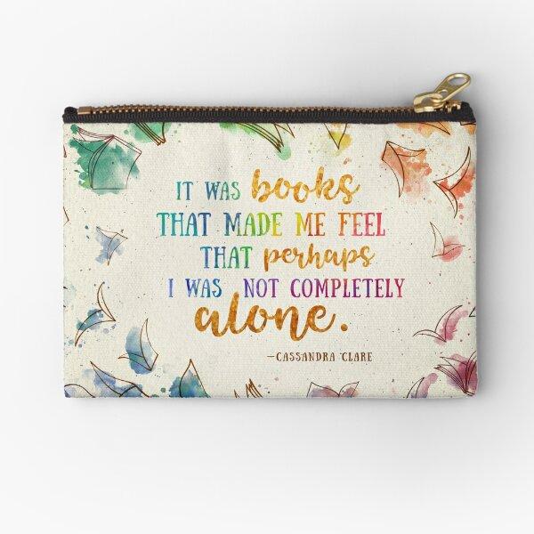 It was books Zipper Pouch