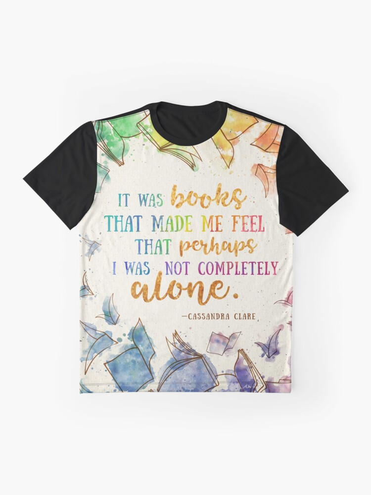 Alternate view of It was books Graphic T-Shirt