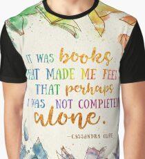 Camiseta gráfica Fue libros