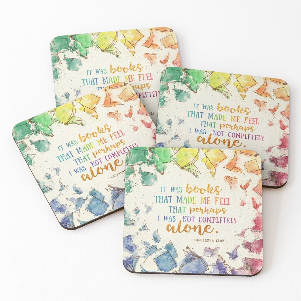 It was books Coasters (Set of 4)