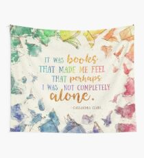 It was books Wall Tapestry