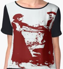 BONNIE AND CLYDE Women's Chiffon Top