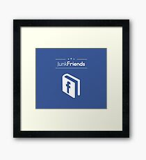 Junk Friends Design Framed Print
