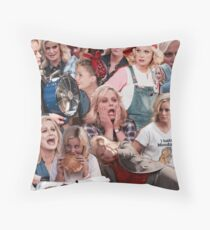 Leslie Knope - Parks And Recreation Throw Pillow