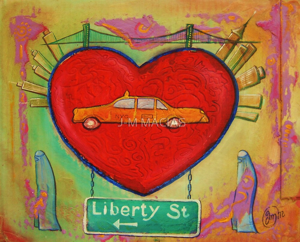 liberty street by J-M MACIAS