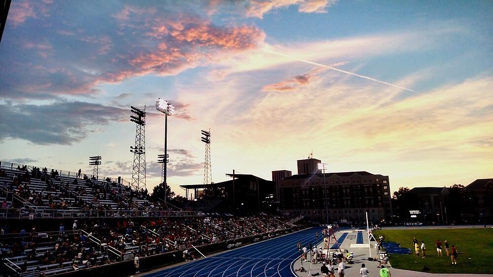 University of Kentucky Track Meet by Rabid-Capy