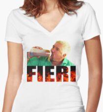 Guy Fieri Women's Fitted V-Neck T-Shirt