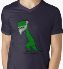 uncle sirannosaurus Men's V-Neck T-Shirt